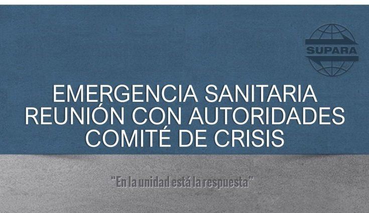 Emergencia sanitaria | Comité de crisis